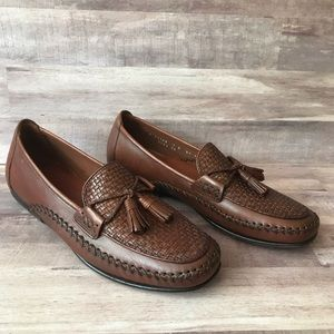 Cole Haan Marcy brown tassel loafers size 7B